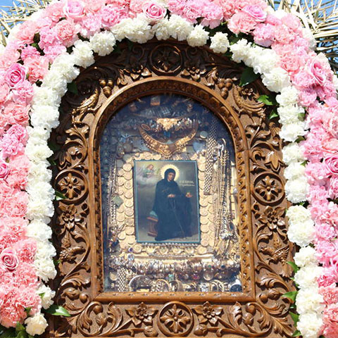 icon of St. Irene Chrysovalantou