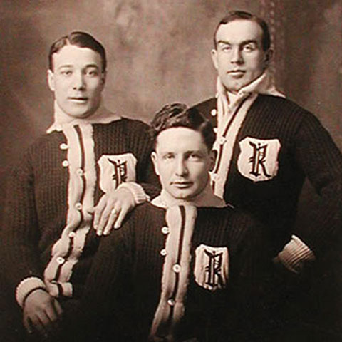 Newsy Lalonde, Frank Patrick, and Cyclone Taylor