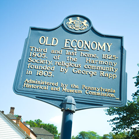 Old Economy historical marker