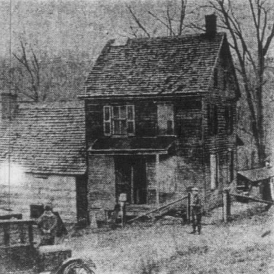 the Rehmeyer House in Hex Hollow
