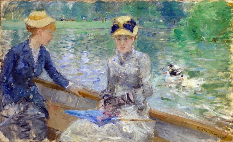 """Berthe Morisot, """"Jour d'eté"""" (1879)"""