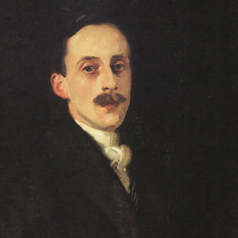 "John Singer Sargent, ""Sir Hugh Lane"" (1906)"