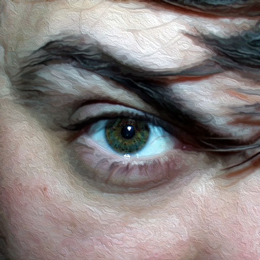 Rob Brunskill's evil eye